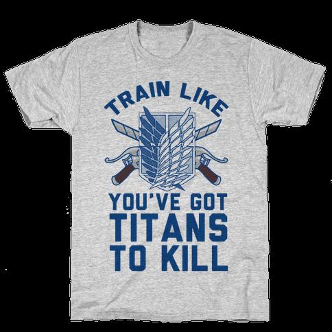 Titans To Kill Mens T-Shirt