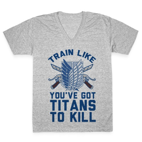 Titans To Kill V-Neck Tee Shirt
