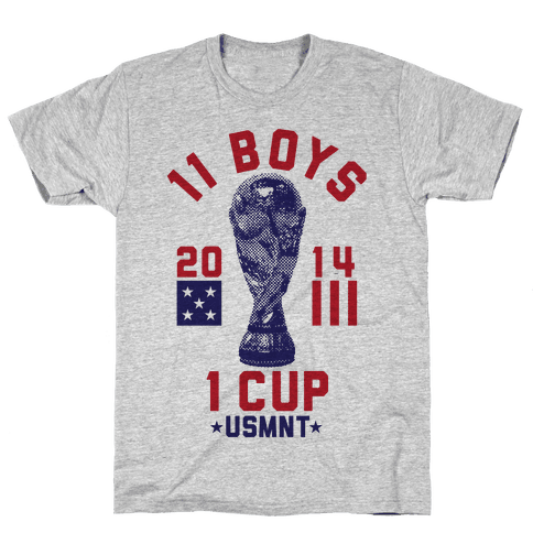 11 Boys 1 Cup Mens T-Shirt
