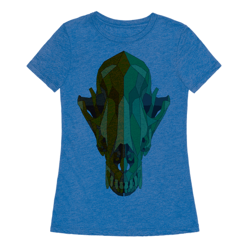 HUMAN - Geometric Coyote Skull - Clothing | Tee