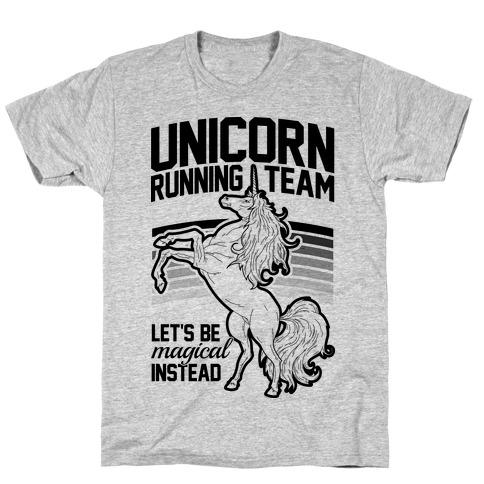 Unicorn Running Team T-Shirt