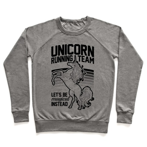 Unicorn Running Team Pullover
