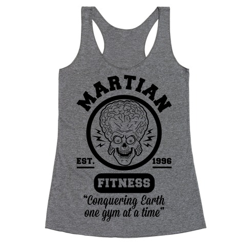 Martian Fitness Racerback Tank Top