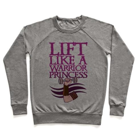 Lift Like A Warrior Princess Pullover