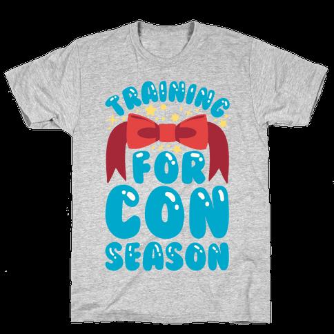 Training For Con Season Mens T-Shirt