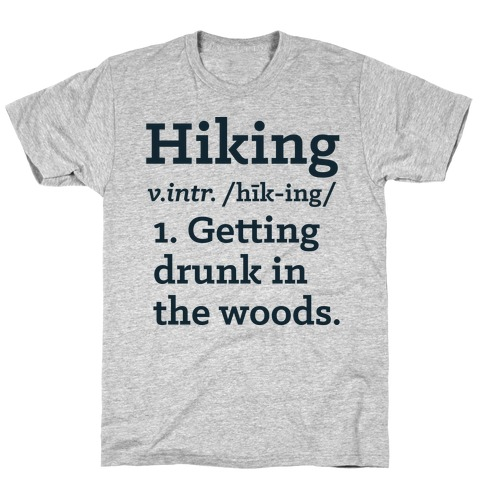 Hiking Definition T-Shirt