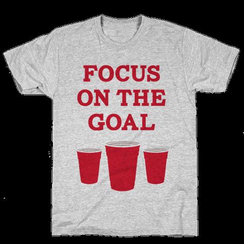Focus on the Goal Mens T-Shirt