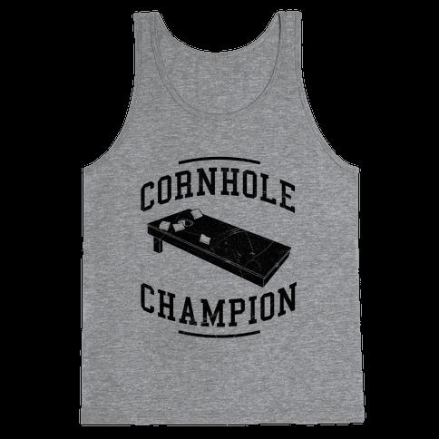 Cornhole Champion Tank Top