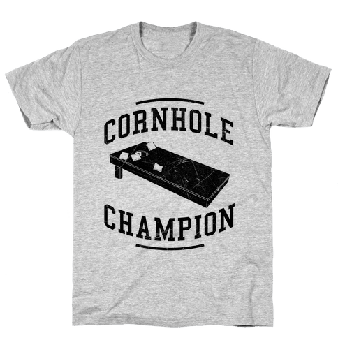 Cornhole Champion Mens T-Shirt