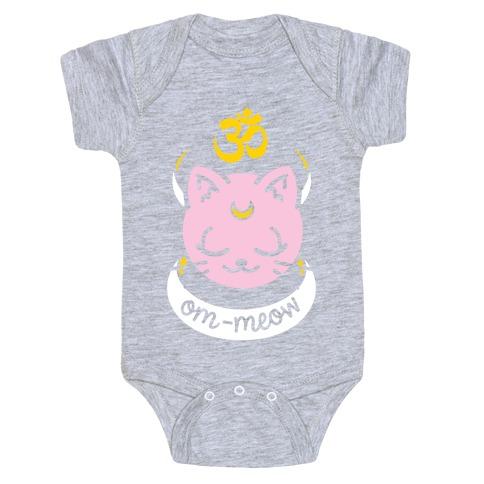 Om-Meow Baby Onesy