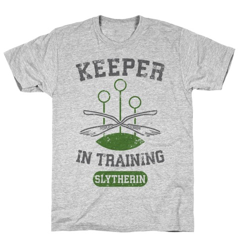 Keeper In Training (Slytherin) T-Shirt