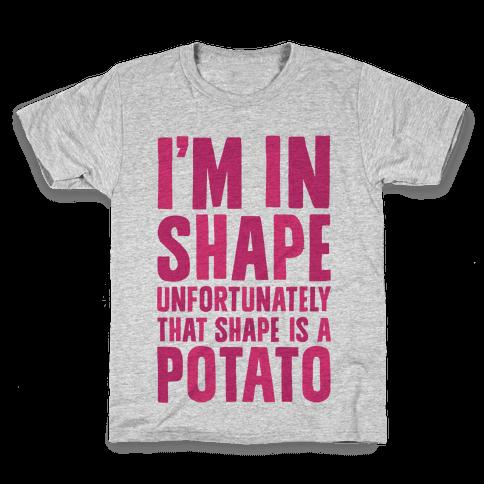 In Shape Potato Kids T-Shirt