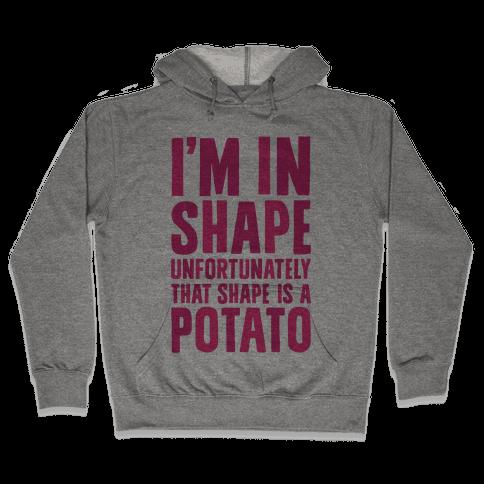 In Shape Potato Hooded Sweatshirt