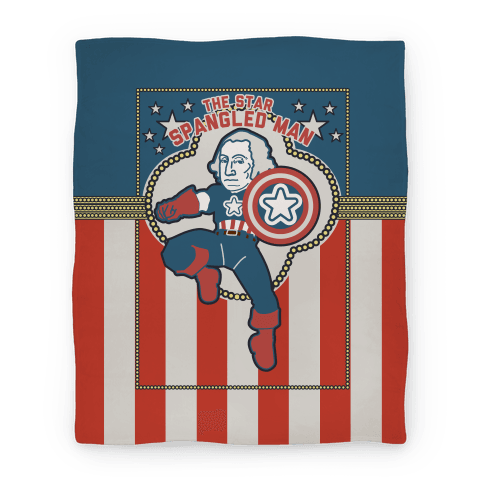 The Star Spangled Man (Blanket) Blanket