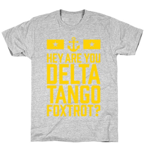 Delta Tango Foxtrot (Navy) T-Shirt