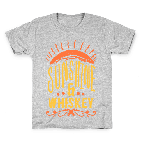 Sunshine and Whiskey Kids T-Shirt