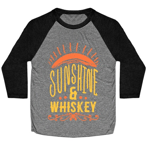 Sunshine and Whiskey Baseball Tee
