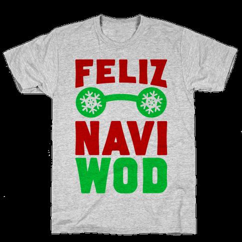 Feliz Navi-WOD Mens T-Shirt