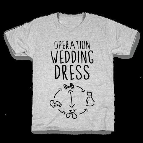 Operation Wedding Dress (Tank) Kids T-Shirt