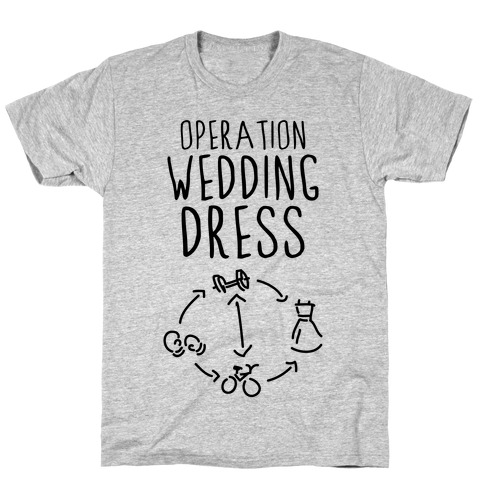 Operation Wedding Dress (Tank) T-Shirt