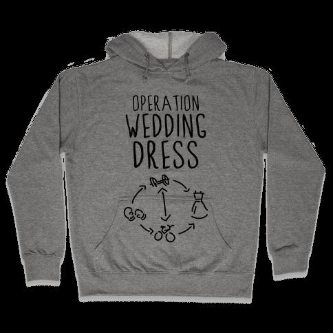 Operation Wedding Dress (Tank) Hooded Sweatshirt
