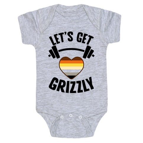 Let's Get Grizzly Baby Onesy