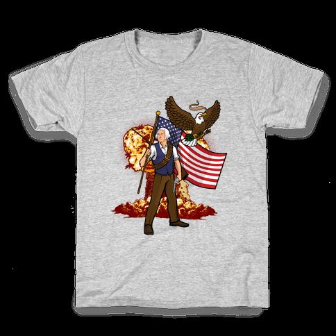 The Immortal George Washington Kids T-Shirt