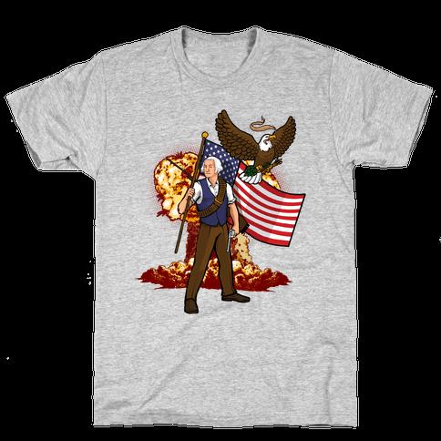 The Immortal George Washington Mens T-Shirt