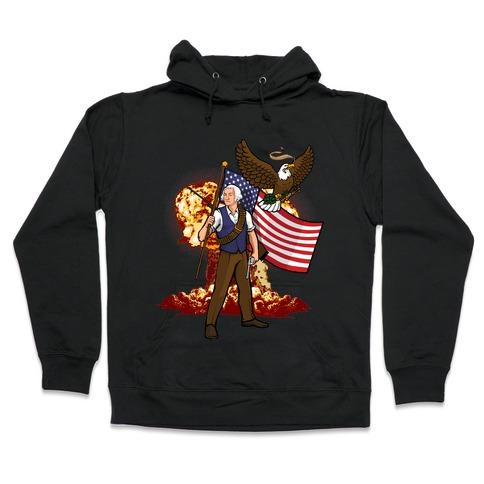 The Immortal George Washington Hooded Sweatshirt