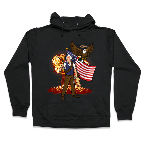 The Immortal George Washington Hooded Sweatshirt