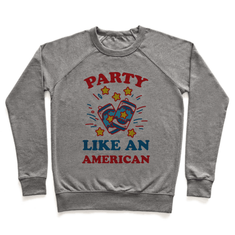 Party Like An American Pullover