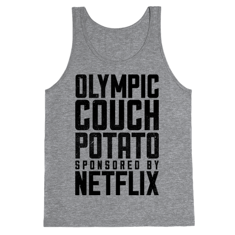 Olympic Couch Potato Tank Top