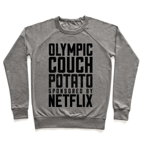 Olympic Couch Potato Pullover