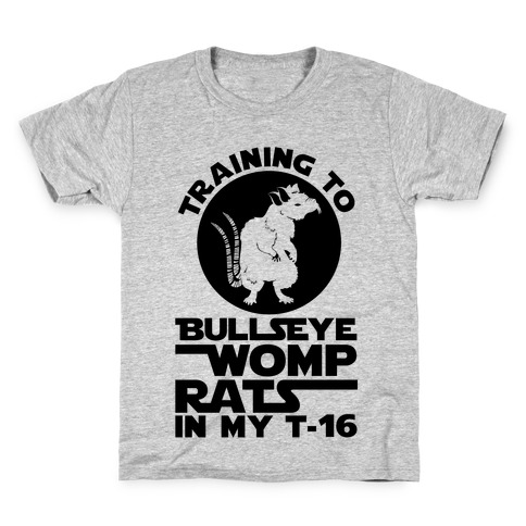 Training To Bullseye Womp Rats Kids T-Shirt