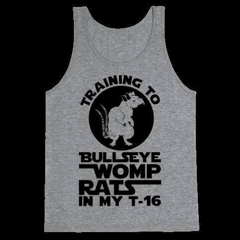Training To Bullseye Womp Rats Tank Top