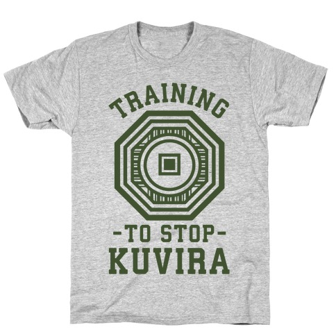 Training to Stop Kuvira T-Shirt