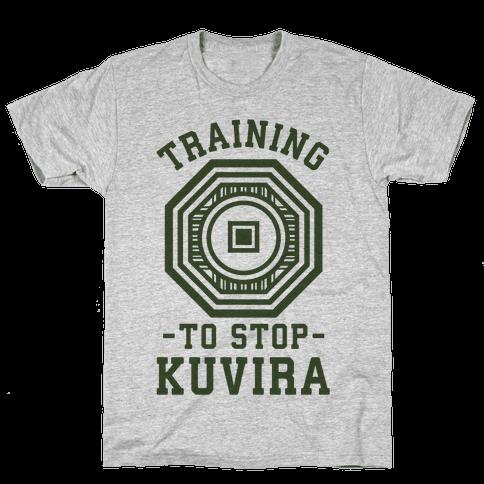Training to Stop Kuvira Mens T-Shirt
