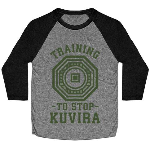 Training to Stop Kuvira Baseball Tee