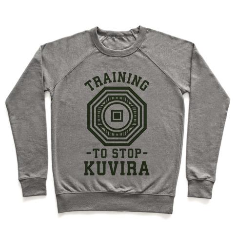 Training to Stop Kuvira Pullover