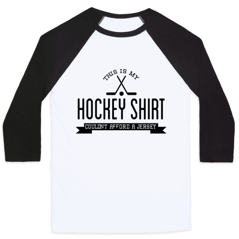 Hockey Shirt Baseball Tee
