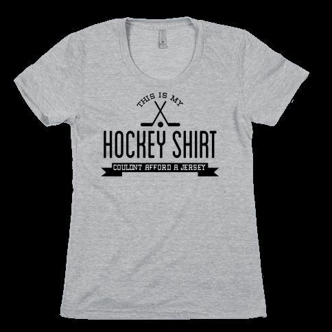 Hockey Shirt Womens T-Shirt