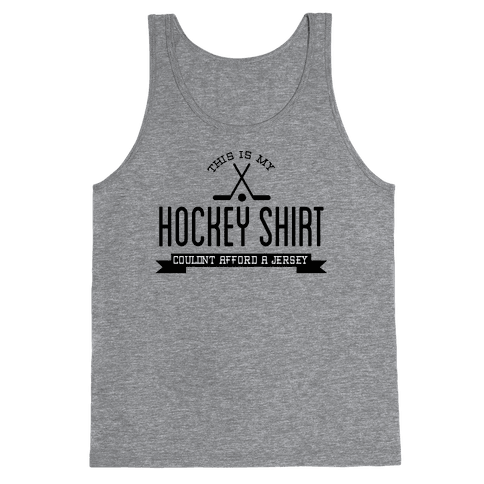 Hockey Shirt Tank Top