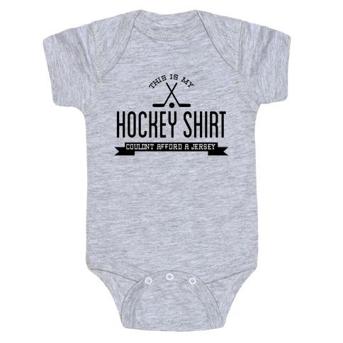 Hockey Shirt Baby Onesy