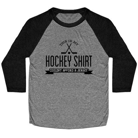 Hockey Shirt Baseball Tee