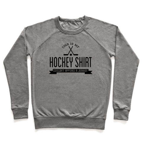 Hockey Shirt Pullover