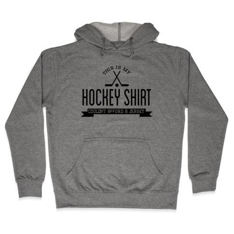 Hockey Shirt Hooded Sweatshirt