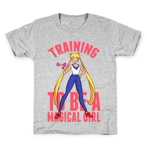 Training To Be A Magical Girl Kids T-Shirt