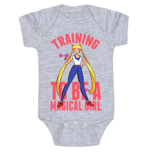 Training To Be A Magical Girl Baby Onesy