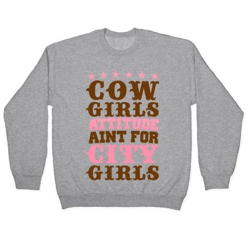 Cowgirl Attitude Pullover