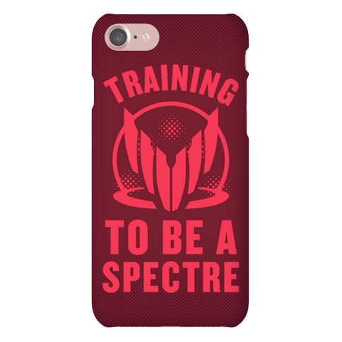 Training To Be A Spectre (Renegade) Phone Case